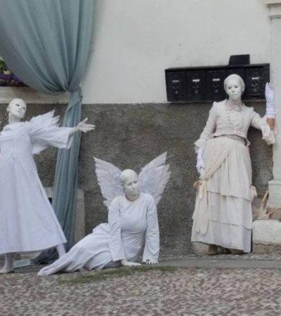 Iznenadna i ničim izazvana invazija anđela na mesto imenom Ala (Trentino Alto Adiđe)