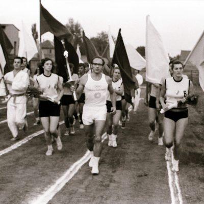 Doček i ispraćaj Olimpijske baklje – 17. avgust 1972.