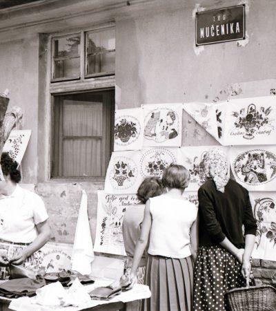 Pijaca u Pančevu, septembar 1962. godine
