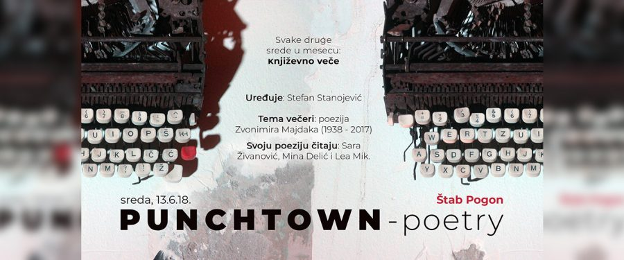 """Punchtown Poetry"" u ""Pogonu"""