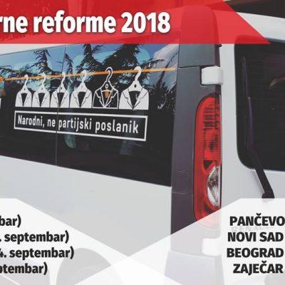 Bus izborne reforme 2018.