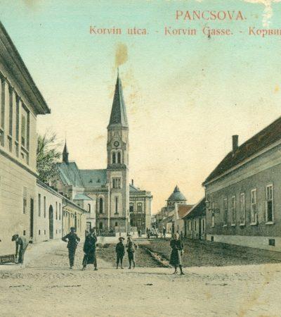 Izgradnja Evangeličke crkve u Pančevu