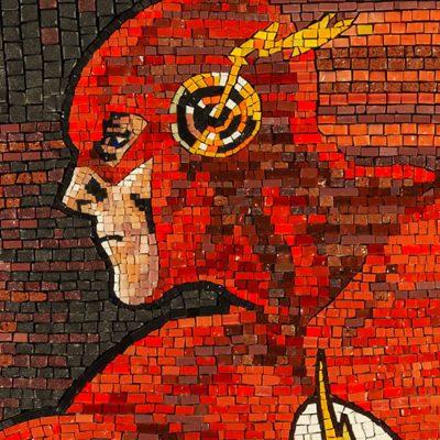 Mozaici Milana Ćuka: strip junaci od kamena i stakla