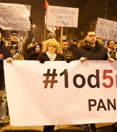 Lični gnev – jedan od pet miliona razloga za protest