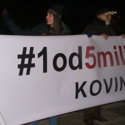 Poruka protesta u Kovinu: Nismo na prodaju!