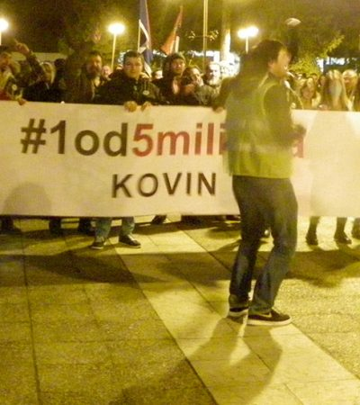 Drugi protest u Kovinu: Kratkovidi mali crvi i osvajanje slobode