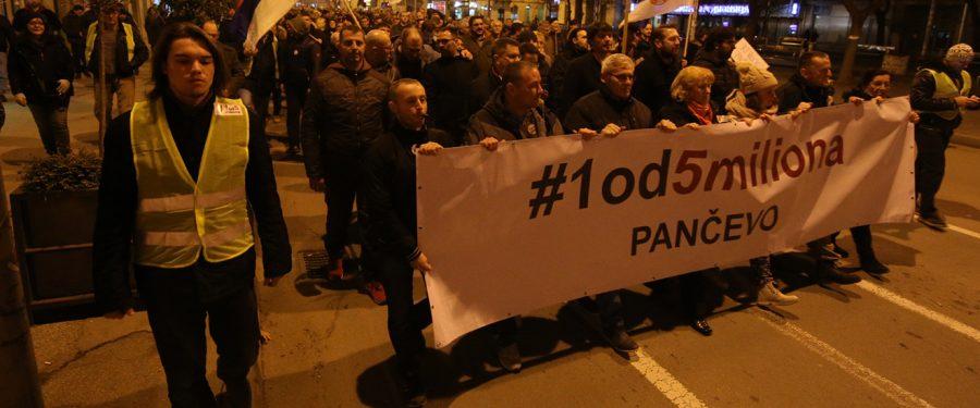 Protestujemo da bi zatvor Srbija prestao da postoji!