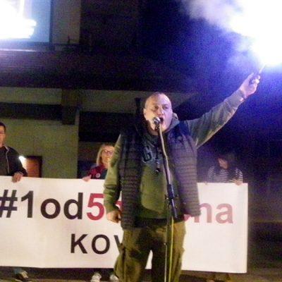 Sedmi protest u Kovinu: Ja sam građanin, ja sam slobodno biće, ja sam vlast!
