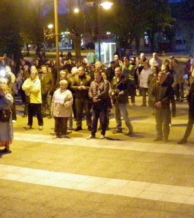 Osmi protest u Kovinu: Miroslav Gavrilović zvani Irinej patrijarh SNS-a
