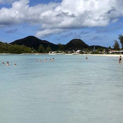 Antigva, dve strane ostrva