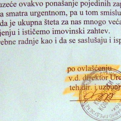 """""""Kovinski komunalac"""" ponovo dreši kesu – na redu Olgica Poštić"""