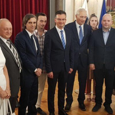 Podsticaj slovenačkim društvima u Srbiji
