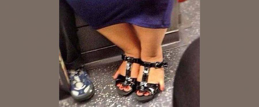 Čučnuo nam k'o tetki sandale