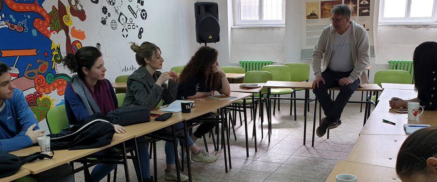 "Informacije o projektu Omladinska škola novinarstva ""Omnibus 4"""