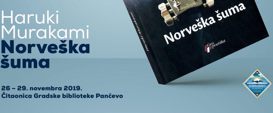 """""""Jedna knjiga – jedan grad"""" posvećena Murakamiju"""