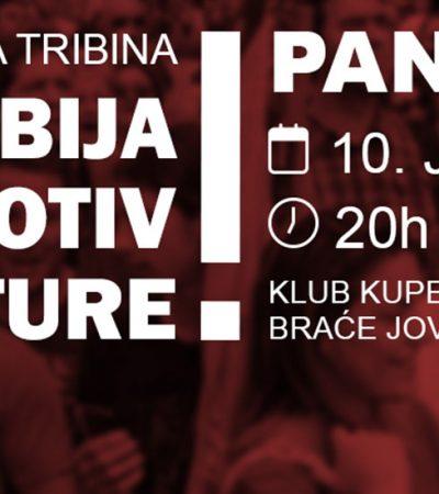 """""""Srbija protiv diktature"""" – Ne davimo Beograd dolazi u Pančevo"""