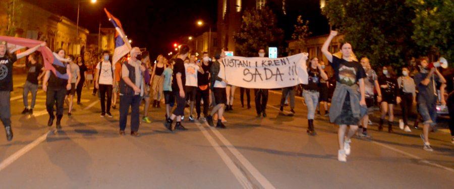 Protest u Vršcu: dva lica Srbije