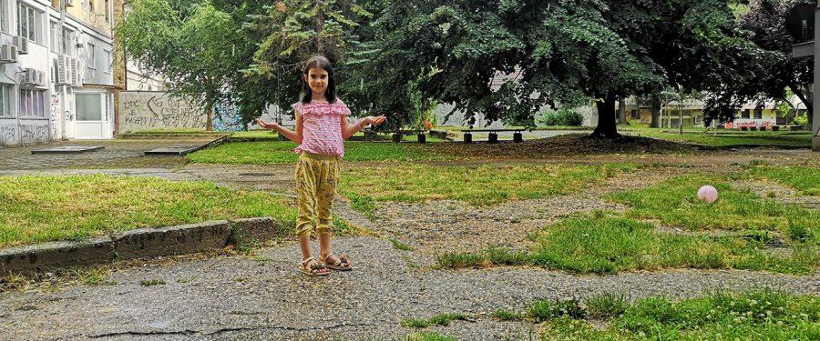 Čuvar parka u letnjem periodu