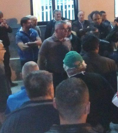 Novoseljani i drugi put protestovali protiv suženja kolovoza
