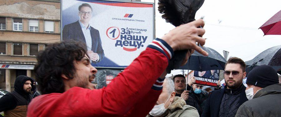Miris građanskog rata u Pančevu?!