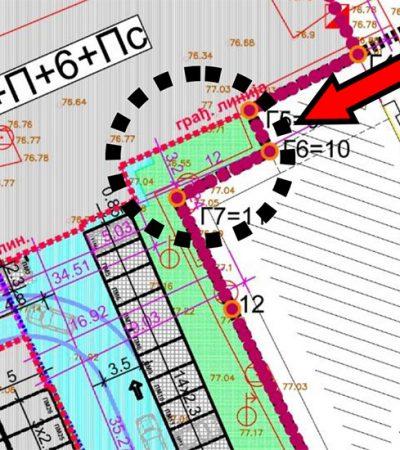 Primedbe na horizontalnu i vertikalnu regulaciju planiranih objekata u Ulici braće Jovanović 34-36