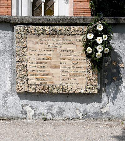 Grad Pančevo nije obeležio 80. godišnjicu pogubljenja 36 Pančevaca u Vermahtovom zločinu