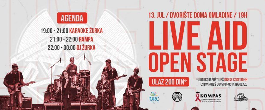 KOMPAS organizuje koncert povodom godišnjice Live Aid-a