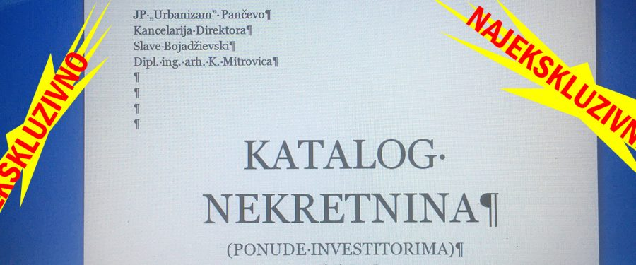 Slawčetov Katalog nekretnina: ponude investitorima